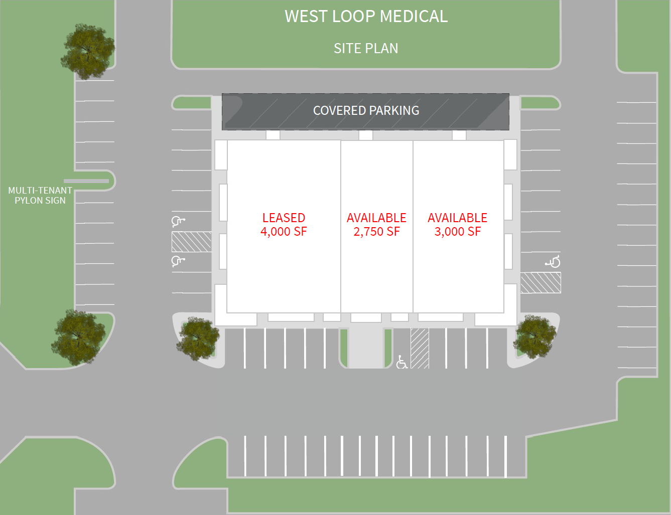 West Loop Medical Site Plan