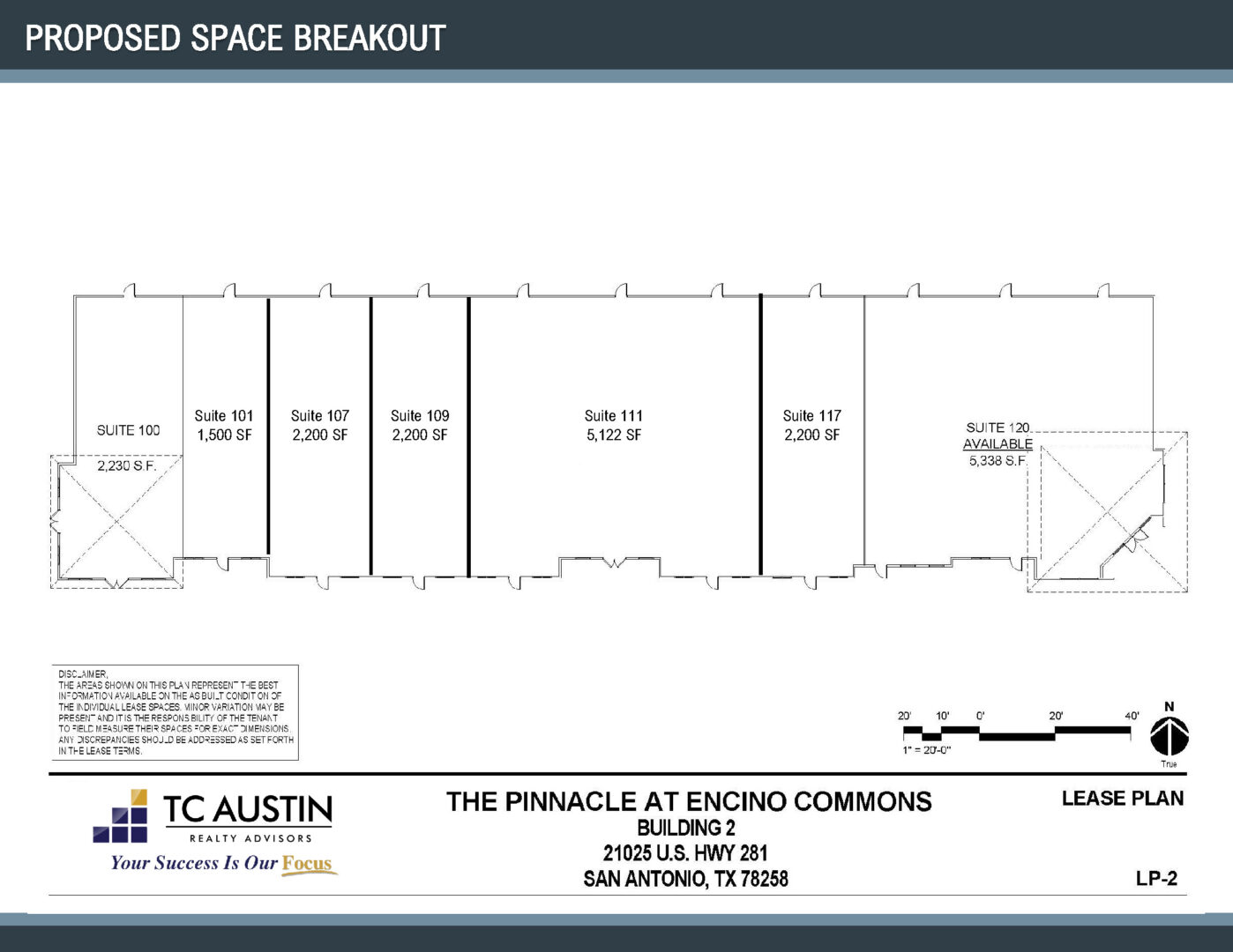 Pinnacle Proposed Suite Division